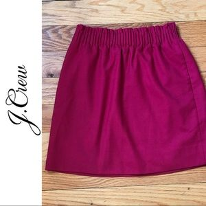 J. Crew Cinched Waist Skirt